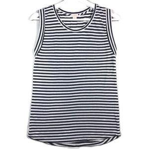J. Crew striped sleeveless t shirt